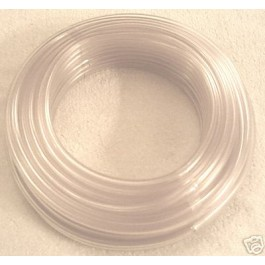 "3mm 1/8"" PVC PLASTIC SCREENWASH TUBING TUBE PIPE 10 MTR"