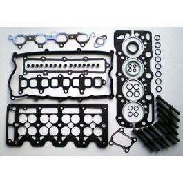 ASTRA COMBO CORSA MERIVA & VAN 1.7 DTi Di 16V 2000 on HEAD GASKET SET BOLTS VRS