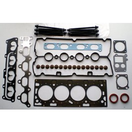 ASTRA MERIVA VECTRA ZAFIRA 1.6 02 on TWIN PORT Z16XEP /XE1 HEAD GASKET SET BOLTS