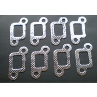 RANGE ROVER MG TVR SD1 V8 EXHAUST MANIFOLD GASKETS x8