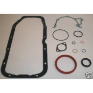 VAUXHALL RED TOP 16V RUBBER SUMP / BOTTOM GASKET SET