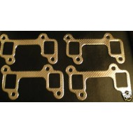 ROVER V8 BIG BORE EXHAUST MANIFOLD GASKETS X 4