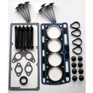 CLIO KANGOO TWINGO 1.1 1.2 8V D7F DIET 96-01 HEAD GASKET SET + BOLTS + 8 VALVES